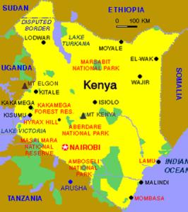 Kenya(map)