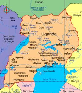 Uganda(map)